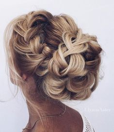 Featured Hairstyle: Ulyana Aster; www.ulyanaaster.com; instagram.com/ulyana.aster.store; Wedding hairstyle idea. #weddinghairstyles