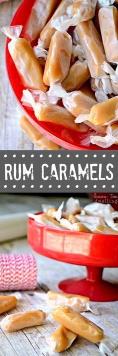 These soft and chewy Homemade Rum Caramels are the real deal! Everything you would want in a caramel, with a delicious hint of rum flavoring. So good....they're like magic!
