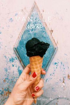 Vanille noire - Glaces Marseille - Bird of Passage #glacier #marseille