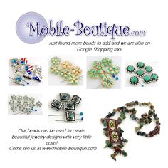 Unique beads 2 hole beads slider beads and fold over clasps