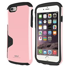 iPhone 6 Case, Phonefoam Golf Case for iPhone 6 Credit Card Holder Case - Retail Packing - Pink ** Want to know more, click on the image.