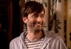 He sends me all of a tizz! Imagine looking in the mirror every morning and having THAT face staring back at you.... *falls in a heap!* #davidTennant