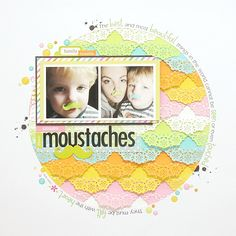 Sweet Moustaches *Doodlebug* - Scrapbook.com