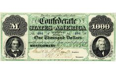 Money during the American Civil War
