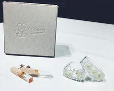 #IROZA #japan#madeinjapan#日本 #nooca#ノーカ #flower#花#wood#木 #white#brown #白#茶色 #かすみ草#ヒノキ #pierce#earring#ring by iroza_press
