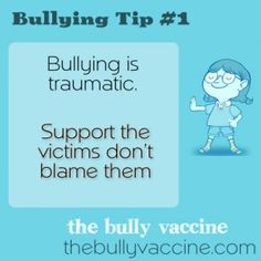 Bullying is traumatic. Support the victims, don't blame them - video lesson