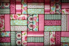 western quilt patterns   used all the pinkish fabrics from sandi henderson s ginger blossom ...