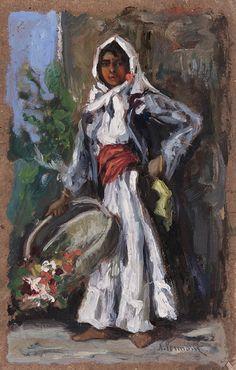 Nicolae Vermont Florareasa Vermont, Europe, Wikimedia Commons, Painting, Women, Atelier, Kunst, Painting Art, Paintings