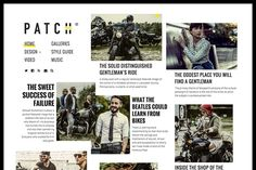 PATCH - A Newspaper-Inspired Theme by PixelGrade on Creative Market