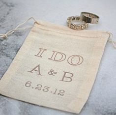 Ring bearer bag