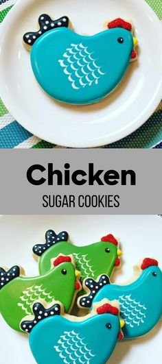 Chicken Sugar Cookies #affiliate