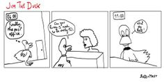 @Jim_TheDuck: Jim The Duck, strip 01. #Community #JimTheDuck