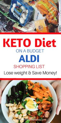 Keto Diet Shopping List for weight loss Ketogenic Diet on a Budget at Aldi #keto #aldi #ketogenic #weightloss Diet Ketogenik, Ketosis Diet, Ketogenic Diet Plan, Ketogenic Diet For Beginners, Keto Diet For Beginners, Keto Meal Plan, Diet Meal Plans, Diet Meals, Meal Prep