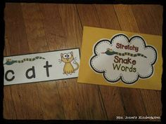Do your kids need help with decoding? This is a great tool to help struggling readers and for intervention groups. Practices segmenting and blending sounds to read a word. $