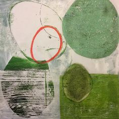 Michèle Brown Artist - The Old Cells Studio: Simply green