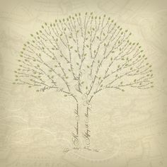 Family Tree Art, Jill Means Design Family Tree Art