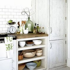 Color Outside the Lines: Kitchen Inspiration Month: Day Two - Butcher Block Counters