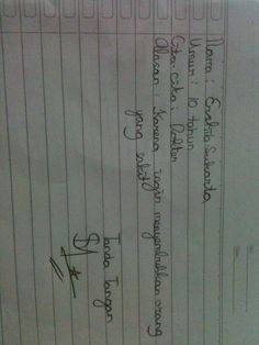 #FutureFactory: Hand Writing by Ershila Sukarta