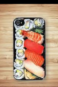 Sushi i phone cover!!! I so want this!!!