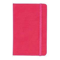 Markings Ruled Pocket Journal, Pink