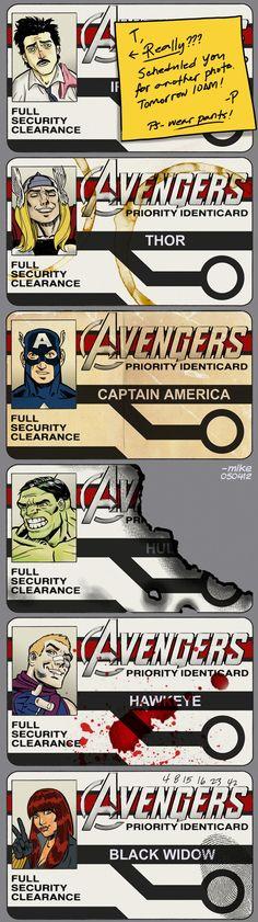 Avengers ID