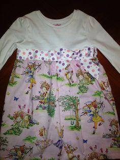 Fancy Nancy Dress on Etsy, $30.00