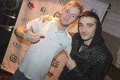Meet&Greet do Tom na boate Quids Inn, em Scarborough, na Inglaterra. (28 fev.)