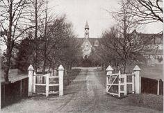 Cranleigh School gates 1909