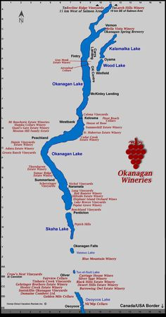 An Okanagan wineries map from Owner Direct Vacation Rentals. Rent a home or condo close to a winery for a special trip. British Columbia, Things To Do In Kelowna, Wine Tasting Near Me, Canada Travel, Canada Trip, Canada Eh, Photos, Wineries, Shipping Wine