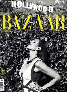 Harpers Bazaar Spain June 2013: Cindy Crawford photographed by Nagi Sakai.