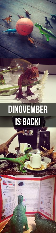 Dinovember is back, so grab those toy dinosaurs and get snapping!