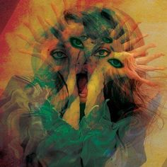 trippy girl x eyes and hands Psychedelic Art, Planet Hemp, Hippie Grunge, Trippy Pictures, Awsome Pictures, Acid Trip, Psy Art, Art Graphique, Illuminati