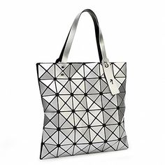 b0865c2a0e95 LilyWhite Women Pearl Laser Sac Bags Diamond Lattice Tote 66 Geometry  Quilted Shoulder Crossbody Bag Folded. Fashion ...