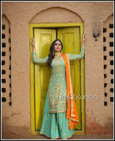 Kids Party Wear Dresses, Pakistani Party Wear Dresses, Desi Wedding Dresses, Designer Party Wear Dresses, Pakistani Wedding Outfits, Formal Dresses For Weddings, Punjabi Wedding, Dress Indian Style, Indian Dresses