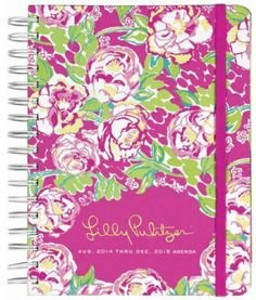 Cahoon's Closet - Lilly Pulitzer Large 2014-15 Agenda - Lilly Lovers, $28.00   (http://www.cahoonscloset.com/shop-by-category/stationery-calendars/lilly-pulitzer-large-2014-15-agenda-lilly-lovers/)