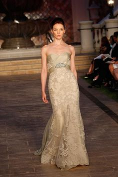 Enzoani | Spring 2013 Collection. Love the lace and color