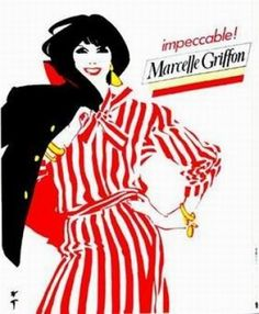 Marcelle Griffon Brune poster by Gruau René. Offset from ca Parisposters only offers original vintage posters. Fashion Illustration Sketches, Botanical Illustration, Graphic Design Illustration, Fashion Sketches, Illustration Art, Fashion Drawings, Fashion Words, Fashion Images, Fashion Art