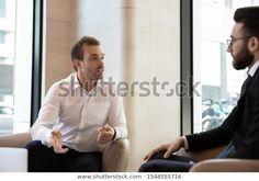 Стоковая фотография «Focused Young Diverse Businessmen Sit Office» (редактировать), 1548555716 Boss, Image, Fictional Characters, Fantasy Characters
