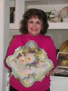 Seminar With Cherryl Meggs   ARTchat - Porcelain Art Plus (formerly Chatty Teachers & Artists)