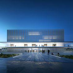 futur palais de justice de Caen