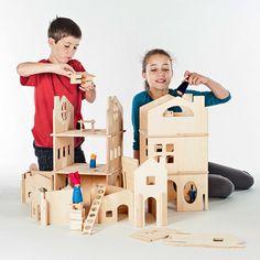 Dollhouse Wood Doll house // Spark Creativity by manzanitakids