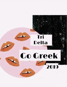 Go Greek, Tri Delta, Backgrounds, Social Media, Poster, Social Networks, Backdrops, Billboard, Social Media Tips