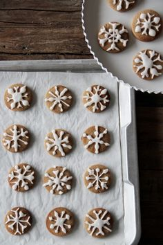 ... snowflake pepper cookies ... #MilkEveryMoment