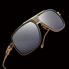 Nwt Dita grandmaster five sunglasses 18k gold DITA GRANDMASTER FIVE TITANIUM DRX2077-A-64 BLACK 18K GOLD SUNGLASSES . ALL THE PHOTOS ARE ACTUAL PHOTOS OF THE SUNGLASSES (DITA HARD CASE,BOX&CLOTH INCLUDED) SIZE: 64/13-138 FEATURES: 18K Rolled Gold Titanium and Zyl Acetate Frame 100% UV Protected Lenses Back-side anti-Reflective Lens Coating Manufactured in Japan retails $950 Dita grandmaster five Accessories Glasses