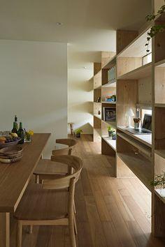Checkered house by Takeshi Shikauchi Architects