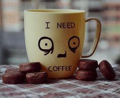 It needs really coffee??