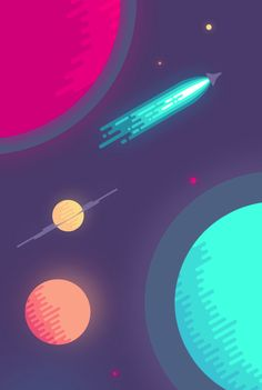 "intooishun: "" What Space Really Looks Like by Nina Geometrieva """