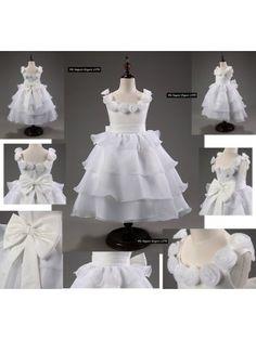 Vestito Cerimonia Feste Bambina CDR021