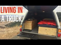 (9) Living in my truck camper shell (Update) - YouTube