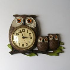Retro owls from the 70's want!